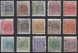 Especial Movil 134/148 (o) Usado. 1940 - Steuermarken/Dienstpost
