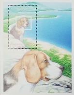 L) 2001 GUYANA, DOG, BEAGLE, ANIMALS, NATURE, MNH - Guyana (1966-...)
