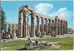 Egypt Postcard Sent To Germany 3-12-1963 Good Franked (Luxor Amon Tempel) - Luxor