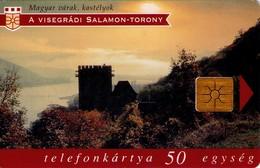 TARJETA TELEFONICA DE HUNGRIA. CASTILLOS, VISEGRÁD. HU-P-1997-20B. (163) - Hungría