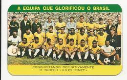 Calendar * Portugal * 1971 * Equipa Do Brasil * A Confidente - Calendars