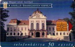 TARJETA TELEFONICA DE HUNGRIA. CASTILLOS, GÖDÖLLÖ, HU-P-1997-11B. (166) - Hungría