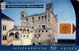 TARJETA TELEFONICA DE HUNGRIA. CASTILLOS, SÁROSPATAK, HU-P-1997-14A. (165) - Hungría