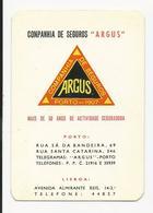 Calendar * Portugal * 1970 * Companhia De Seguros ''Argus'' - Calendars