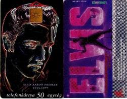 TARJETA TELEFONICA DE HUNGRIA. MUSICA, ELVIS, HU-P-1997-15A. (073) - Música