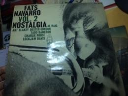 FATS NAVARRO-NOSTALGIA-DISQUE 33T. - Vinyl Records