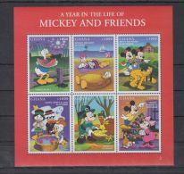 T565. Ghana - MNH - Cartoons - Disney's - Cartoon Characters - Mickey - Goofy - Disney