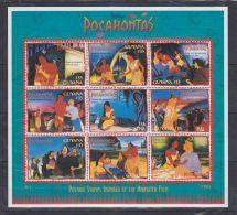 V566. Guyana - MNH - Cartoons - Disney's - Pocahontas - Disney