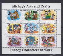 V566. Guyana - MNH - Cartoons - Disney's - Cartoon Characters - Mickey - Goofy - Disney