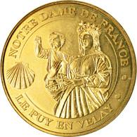 France, Jeton, Jeton Touristique, Le Puy-en-Velay - La Vierge Et La Coquille St - France