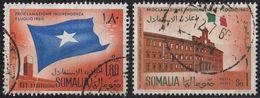 SOMALIA - 1960 - Serie Completa Obliterata Yvert Posta Aerea 3/4. - Somalia (1960-...)
