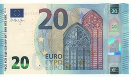 20 EURO  'NA'     DRAGHI    N 007 G6    NA6710959747  /  FDS - UNC - EURO