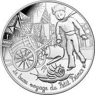 """Pièce 10 Euros Argent* """"Le Beau Voyage Du Petit Prince"""" -monnaie De Paris - France"""