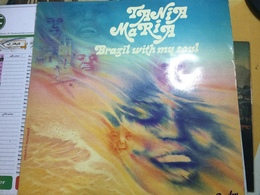 TANIA MARIA- BRAZIL WITH MY SOUL-DISQUE 33 T - Vinyl Records