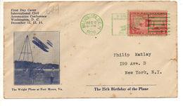 AIR MAIL LETTER 12 12 1928 #48 - Etats-Unis