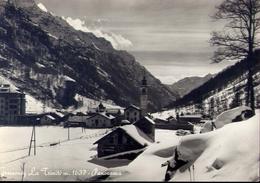 Gressoney - Aosta - La Trinitè - Panorama - Formato Grande Viaggiata – E 8 - Aosta