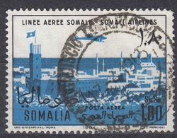SOMALIA - 1964 - Yvert Posta Aerea 31, Obliterato. - Somalia (1960-...)