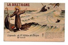 RÉGION . LA BRETAGNE . LÉGENDE DE SAINT-GILDAS DE RHUYS . XIIe SIÈCLE - Réf. N°19399 - - Bretagne