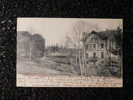 Salm-château, Les Ruines Et Le Château, 1904, Timbre (B6) - Vielsalm