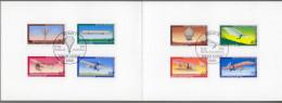 "Bund: Minister Card - Ministerkarte Typ V, Mi-Nr 964-67+ B 563-66 ESST: "" Jugend 1978: Luftfahrt "", Rar !      X - [7] Repubblica Federale"