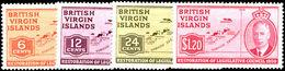 British Virgin Islands 1951 Legislative Council Lightly Mounted Mint. - British Virgin Islands