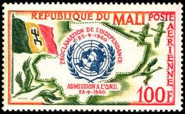 Mali 1961 Independence Lightly Mounted Mint. - Mali (1959-...)