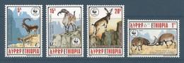 1990 Ethiopia WWF Walia Ibex Set (** / MNH / UMM) - W.W.F.