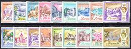 Bermuda 1962-68 Set Unmounted Mint. - Bermuda