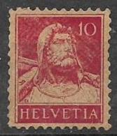 SVIZZERA  1914-18  BUSTO DI GUGLIELMO TELL UNIF. 138 MNH XF - Svizzera