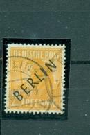 Berlin, Schwarz Auf Arbeiterserie Nr.10 Gestempelt Geprüft BPP - Berlin (West)