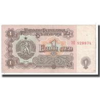 Billet, Bulgarie, 1 Lev, 1974, KM:93a, TTB - Bulgarie