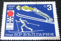 Bulgaria 1971 Winter Olympics Sapporo 3 Ct - Used - Gebraucht