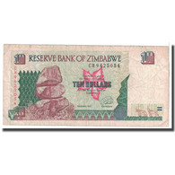 Billet, Zimbabwe, 10 Dollars, 1997, KM:6a, TB - Zimbabwe