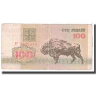 Billet, Bélarus, 100 Rublei, 1992, KM:8, TB - Belarus