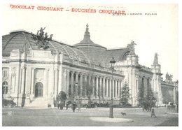 (ORL 741) Very Old Postcard - France - Paris Grand Palais (Chocolate Choquart / Bouchée Chquart) - Monuments