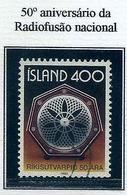 LSJP ICELAND 50 YEARS OF NATIONAL RADIOFUSION 1980 - 1944-... Republik