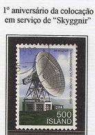 LSJP ICELAND TELECOMMUNICATIONS SKYGGNIR ANTENNA 1981 - 1944-... Republik