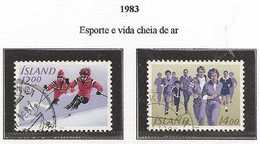 LSJP ICELAND SPORT SKI AND RACE 1983 - 1944-... Republik