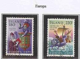 LSJP ICELAND EUROPE FOLKLORE 1981 - 1944-... Republik