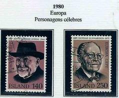 LSJP ICELAND EUROPE PERSONAGE CELEBRATED 1980 - 1944-... Republik