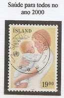 LSJP ICELAND HEALTH FOR ALL WOMEN AND CHILDREN YVERT 647 1988 - 1944-... Republik