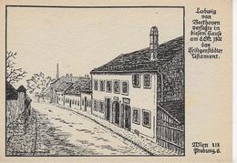 AK 0064  Wien ( Probusgasse ) - Beethovenhaus / Verlag Kühne Um 1930-50 - Wien Mitte