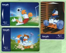 SPECIAL PRICE - New Zealand - 1995 Disney - Donald Duck Part I Set (3) - NZ-A-153/5 - Mint - Neuseeland