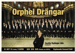 23B : Singapore Music Orphei Drangar Choir Advertisement Postcard - Music And Musicians