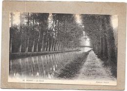 MORET Sur LOING - 77 - Le Canal - DELC5 - - Moret Sur Loing