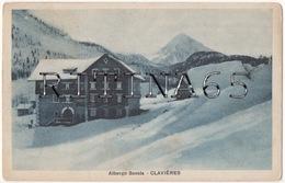 TO124 !!! CLAVIERES ALBERGO SAVOIA 1922 F.P. !!! - Italia