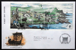 Faroe Islands  2006     MiNr.523-25 Block 18   FDC   ( Lot 1 )FOGHS COVER - Isole Faroer