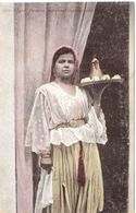 Alger Femme Arabe Servant Le Café - Women