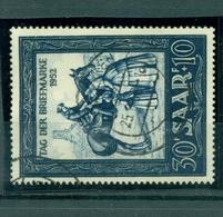Saarland, Tag Der Briefmarke 1952 Nr. 316, Gestempelt - Französische Zone