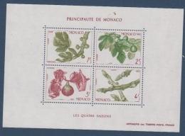 MONACO-1983-BLOC N°26** LES 4 SAISONS DU FIGUIER - Blocks & Sheetlets